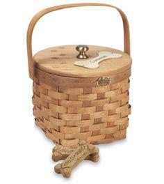 Peterboro Pet Treat Basket