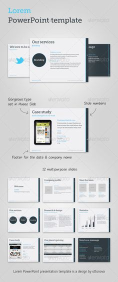 15 High Quality, Professional and Premium Powerpoint Templates
