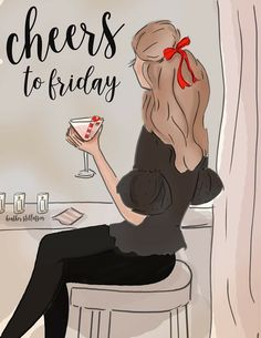 Cheers to Friday