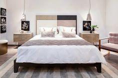 #LacasaShangHai#Designcenter#kellyhoppen#bedroom#kellybed#contrast#nightstand