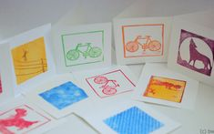 quadrokarten12 Frame, Home Decor, Stamps, Printing, Plants, Picture Frame, Decoration Home, Room Decor, Frames