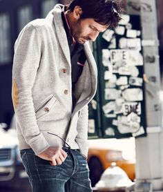 I Like This Elbow Patch Cardigan!