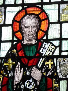 https://flic.kr/p/M4ZWZP | St Peter | Stained glass by Edward Nuttgens c1960 in…