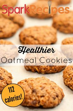 Oatmeal Orange Cookies (Diabetes Friendly). These are so great! I made them for my diabetic grandmother and she loved them. | via @SparkPeople #diabetesrecipe #dessert #cookies #oatmealcookies #healthy