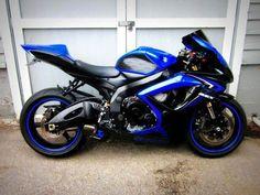 Blue n' Black Gixxer