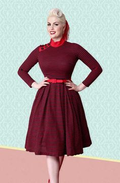 5b0c84143e4dba 15 Best Fab Fashion - Birds and Flowers images | Retro outfits ...