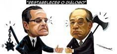 Henrique Alves e Gilmar Mendes se encontram hoje...