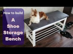 In this video I build a shoe storage bench. This is a simple DYI Project. Build A Shoe Rack Bench, Bench With Shoe Storage, Amazing Gardens, Beautiful Gardens, Household Chores, Best Dining, Underwater Photography, Diy Garden Decor, Landscape Photographers