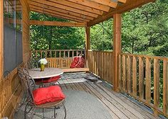 Brandon's Treehouse - Brandons Treehouse is a beautiful Smoky Mountain chalet, nestled in the woods which offers plenty of privacy. Beautifully decorated with warm country decor and all the features of a comfortable cozy home away from home. Brandon's Treehouse is ideal for that special honeymoon, anniversary or family getaway. Brandon's Treehouse is located right between both Gatlinburg and Pigeon Forge being convenient to both cities. #under100 #secluded