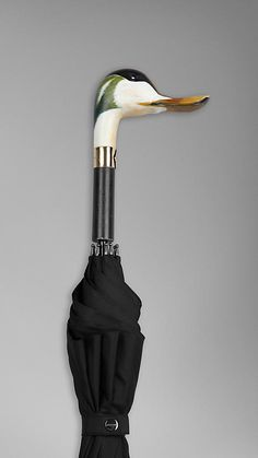 Burberry - DUCK HANDLE WALKING UMBRELLA <3 <3 <3
