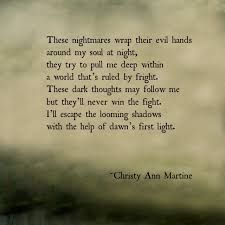 Image result for nightmares quotes
