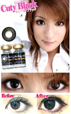 """K-pop celebrities like Girls' Generation and Hyuna (""""Gangnam Style"""" girl!) are famous for wearing colored circle lenses to give their eyes an extra glow that looks sparkling in photos and videos. Join the Hallyu wave and discover these stunning celebrities' beauty secret to large, charistmatic eyes!  For this """"best face"""" look, it's all about the eyes. The circle lenses they typically use are diameter 14.5mm and below and colors like brown, choco and black.  Shop now with Free Shipping…"""