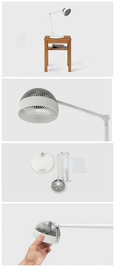 The Branch fan is quite functionally superior, but I'm mainly intrigued by how cute it looks. Read Full Story at Yanko Design Vacum Cleaner, Diy Furniture, Furniture Design, Portable Fan, 3d Cnc, Desk Fan, Modern Fan, Yanko Design, Gadgets And Gizmos