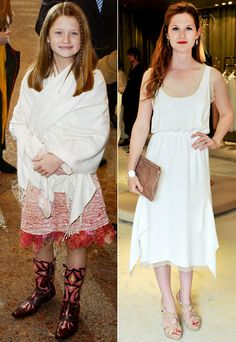 Bonnie Wright (Ginny Weasley in the Harry Potter film series)