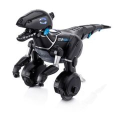 The smart MiPosaur is the future of prehistoric toys, letting you interact with a robotic creature that can be trained to sit and stand on its own. You can even teach this wheeled robo dino tricks and dances.