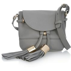 See by Chloé Vicki mini textured-leather shoulder bag ($395) ❤ liked on Polyvore featuring bags, handbags, shoulder bags, grey, mini crossbody purse, cell phone shoulder bag, shoulder strap bag, mini shoulder bag and cell phone crossbody