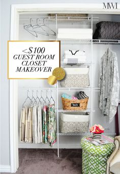 DIY Guest Room Close
