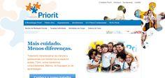Site para o Instituto Priorit - Rio de Janeiro