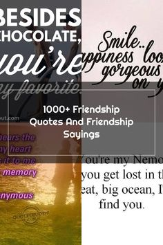 1000+ Friendship Quotes And Friendship Sayings Short Friendship Quotes, Finding Yourself, Memories, Memoirs, Souvenirs, Best Friend Quotes, Remember This