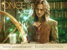 """""""Love is the most powerful magic of all"""" <3  Do me a favor please Rumple, please get Belle back!"""