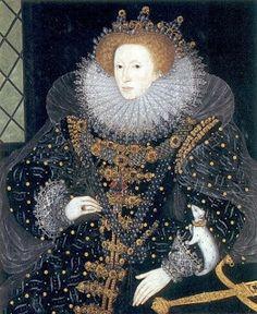 .História da Moda.: O Rufo A Rainha Elizabeth I usou e abusou dos rufos no seu reinado. Abaixo imagens dos mais variados tipos e tamanho de rufos usado no século XVI.
