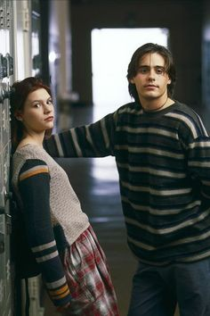 "Angela & Jordan Catalano.. loved this show...""my so-called life""..Netflix it"