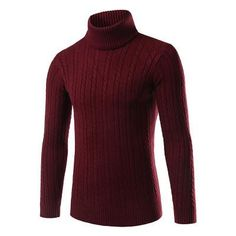 Thick Sweater Turtleneck