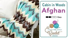 Crochet Cabin in the Woods Afghan + Tutorial