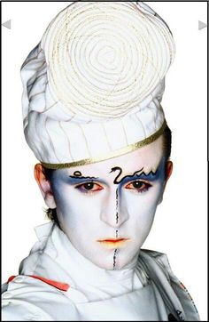 Steve Strange from VISAGE.. Loved his music..