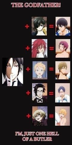 The I'm just one hell of a butler at the end killed me<<yea the ability to impregnate men