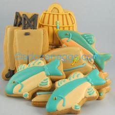 fly fishing cookies
