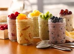 Color Your Own Overnight Oatmeal recipe from Betty Crocker