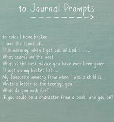 Journal Prompts - This Enchanted Pixie I really truly want to get back to writing. Especially during the cozier-at home- months.