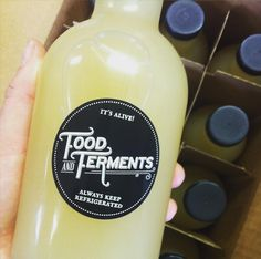 Pickle backs anyone? With this pickle juice you almost forget about the whiskey. Craved by our die-hard pickle loving customers (you know who you are)-this rich, lactofermented sour dill brine is the crème de la crème of pickle juice. Keep refrigerated. WE PACK AND SHIP ORDERS EVERY TUESDAY. 16oz