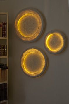 Nuno felt lamp. Led lights, a new low-consumption luminous source, is a low heat light. This feature allowed me to break away of the usual pattern:  base, stem, warm light source, lampshade, and to envisage new typologies: carpet-lamps,...
