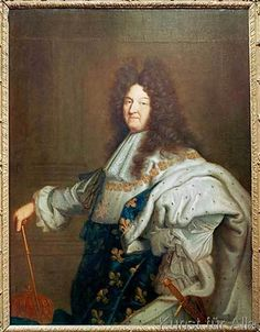 Hyacinthe Rigaud - Louis XIV / Paint.by H.Rigaud / c.1701