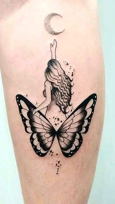 Inner Arm Tattoos, Tribal Arm Tattoos, Girly Tattoos, Dope Tattoos, Mini Tattoos, Small Tattoos, Butterfly Tattoo On Shoulder, Butterfly Tattoos For Women, Butterfly Tattoo Designs