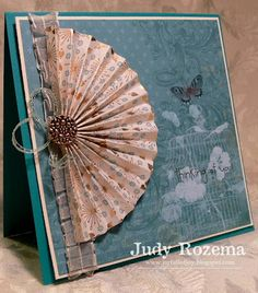 Really Reasonable Ribbon's Ramblings!: Fabulous Accordian Fan Card