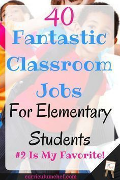 Find a task for every type of student in your class using this list of 40 awesome classroom jobs for upper elementary students! Check them out for yourself! elementary school 40 Cool Classroom Jobs for Elementary Students My Fav! Classroom Economy, Classroom Helpers, Classroom Routines, Classroom Procedures, 4th Grade Classroom, Classroom Ideas, Future Classroom, Classroom Organization, Classroom Design