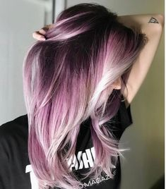42 Amazing Shade Root Pastel Pink Hair Color Ideas for .- 42 Amazing Shade Root Pastel Pink Hair Color Ideas for # Amazing # for Color Pink - Pastel Pink Hair, Hair Color Pink, Cool Hair Color, Silver Purple Hair, Ombre Purple Hair, Dark Pink Hair, Dyed Hair Ombre, Pink Black, Black Ombre