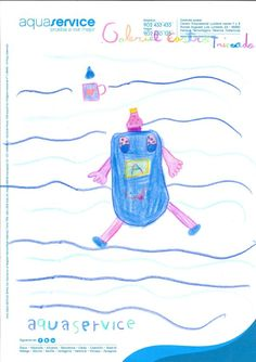 Así ve la mascota de Aquaservice Gabriel, 7 años. Ganador del concurso Expojove'13 (categoría: de 6 a 8 años)