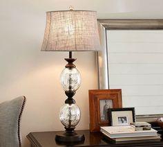 69 Ideas For Diy Lamp Base Glass Pottery Barn Table Lamp Base, Lamp Bases, Peggy Porschen Cakes, Room Lamp, Desk Lamp, Mercury Glass, Murano Glass, Pendant Lighting, Light Pendant