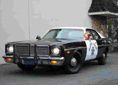 Mopar Police car, 1976 Coronet Highway Patrol.