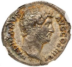 Hadrian. Silver Denarius (3.00 g), AD 117-138 Rome, AD 134-138. HADRIANVS AVG COS III P P, bare head of Hadrian… / MAD on Collections - Browse and find over 10,000 categories of collectables from around the world - antiques, stamps, coins, memorabilia, art, bottles, jewellery, furniture, medals, toys and more at madoncollections.com. Free to view - Free to Register - Visit today. #Coins #Ancient #MADonCollections #MADonC Ancient Romans, Ancient Art, Past Life Memories, Historical Artifacts, Sell Gold, Coin Collecting, Ancient Greece, Roman Empire, Seals