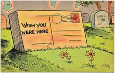 Wish you were here! by wackystuff, via Flickr