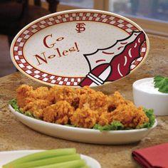 Florida State Seminoles Gameday Ceramic Platter