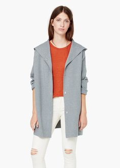 Cotton coat -  Women | MANGO