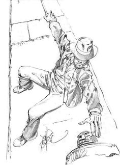 Indiana Jones sketch by John Byrne from 1981 Comic Book Artists, Comic Book Characters, Comic Artist, Comic Books Art, Epic Characters, Indiana Jones, John Byrne, Saturday Morning Cartoons, Marvel
