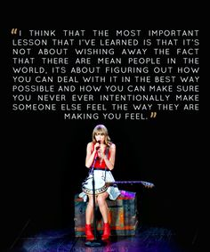 The speech before Mean #REDTour