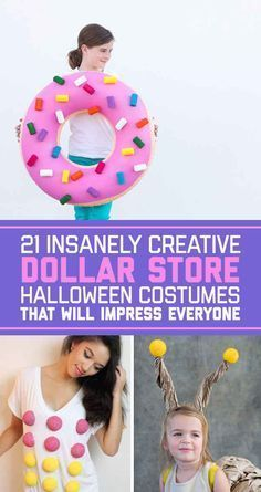 The crazy cat lady costume is winning in my book. I've always been called that... Maybe it's time to bring it to life lol! 21 Insanely Creative Dollar Store Halloween Costumes That Will Impress Everyone